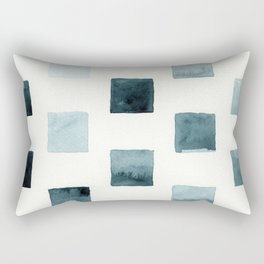 Indigo landscapes Rectangular Pillow