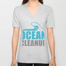 Ocean Cleanup Unisex V-Neck