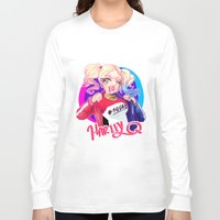 harley Long Sleeve T-shirts featuring HARLEY by Miaolait