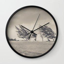 Windy Beach Wall Clock