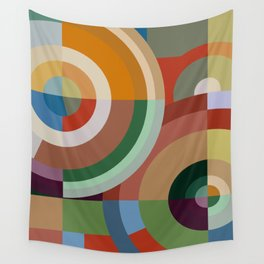 Colour Revolution EIGHT Wall Tapestry