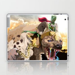 Pet Hyena Laptop & iPad Skin