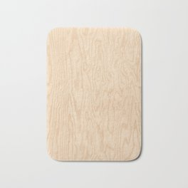 Wooden texture pattern Bath Mat