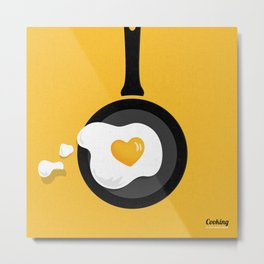 Cooking Is Love Metal Print