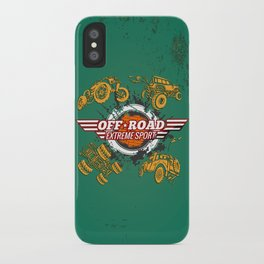 Offroad Extreme Sport iPhone Case