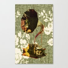 Dueling Phonographs I Canvas Print