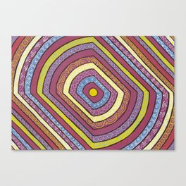 Psychedeli Canvas Print