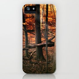 Sky Fire - surreal landscape photography iPhone Case