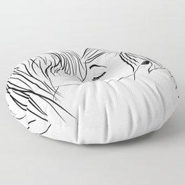 nice to meet you Floor Pillow