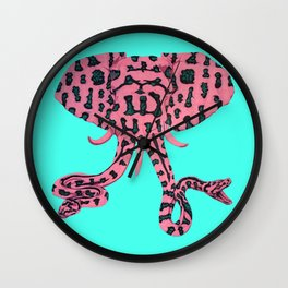 The Elephant in the Room Wall Clock