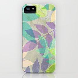 Poppy Shimmer III iPhone Case