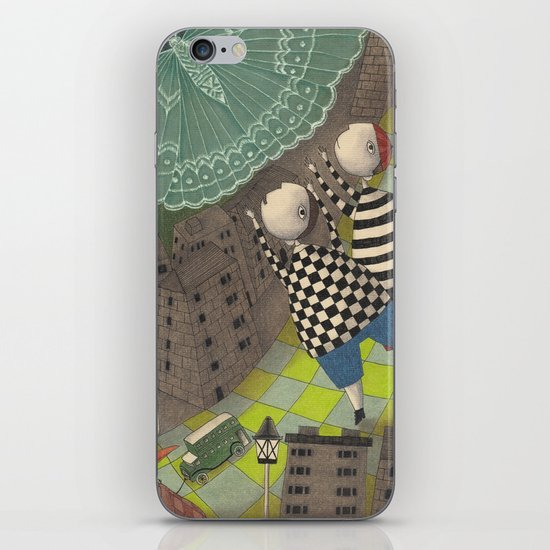 Night flight (1) iPhone & iPod Skin