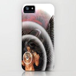 heavenly body - archangel micheal iPhone Case