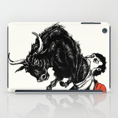 what is likely to happen when one is full of bull iPad Case