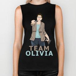 Team Olivia Biker Tank
