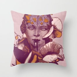 Mythical evolution Throw Pillow