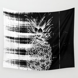 Anatomy of a Pineapple Wall Tapestry