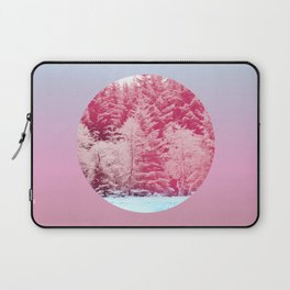 Candy pine trees lens Laptop Sleeve