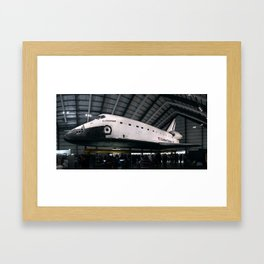 Space Shuttle Endeavour Framed Art Print