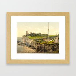Vintage Photo-Print of Kingsgate Castle (1900) Framed Art Print