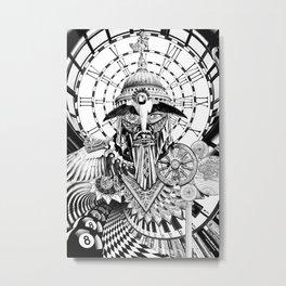 ENTRETENERSE EN EL ESTE ES MENESTER DEL SER TERRESTRE Metal Print