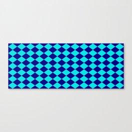 Diamond Blocks Canvas Print