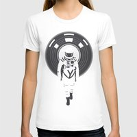 dj T-shirts featuring DJ HAL 9000 by Robert Farkas