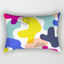 Fluorescent Adolescent Rectangular Pillow