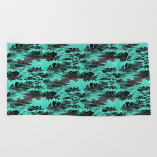 Turbulence... Beach Towel