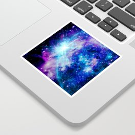 galaxy Nebula Star Sticker