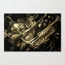 Tarnished Brass Canvas Print