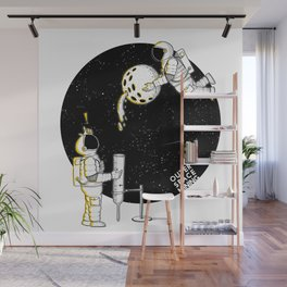 Mining in Space Wall Mural