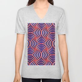 Abstract Composition 720 Unisex V-Neck