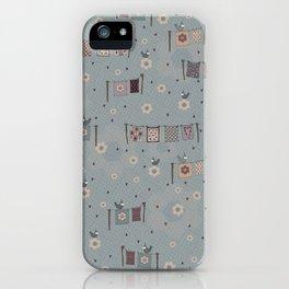 Quilter's Garden iPhone Case