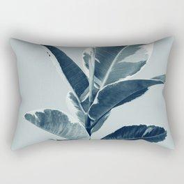Ficus Elastica Finesse #1 #tropical #foliage #decor #art #society6 Rectangular Pillow