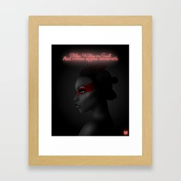 Stolen Waters are Sweet- EVE Framed Art Print