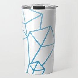 Small Crystal Cluster - Blue Travel Mug