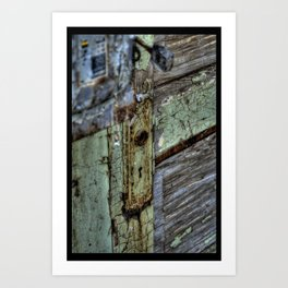 Painted Door Art Print