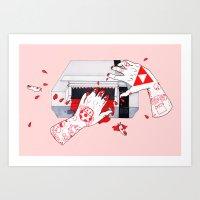 nintendo Art Prints featuring Nintendo Dentata by scoobtoobins