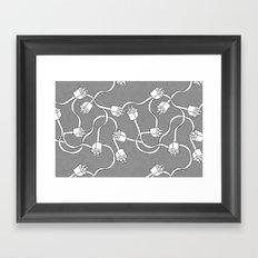 Cables Framed Art Print