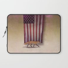 the Fox & the Flag Laptop Sleeve