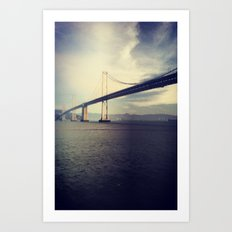 Bay Bridge! Art Print