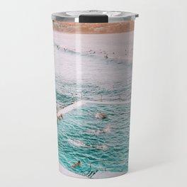 Dreamy Sunset Iconic Bondi Iceberg Pool  Travel Mug