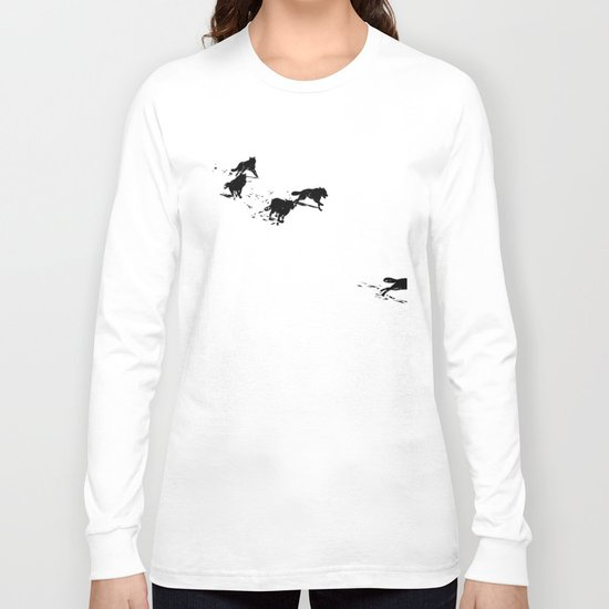 snowblinded // (wolf pack) Long Sleeve T-shirt