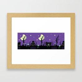 velvet sky Framed Art Print