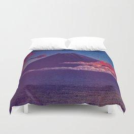A Sunset for Hara Duvet Cover