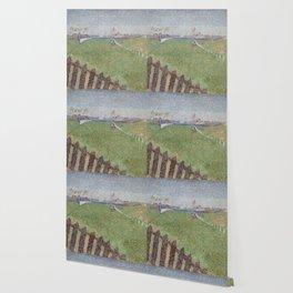 Alfred William Finch - The Wellington Racecourse in Drizzle (Ostende) Wallpaper