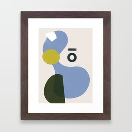 Domio Abstract 3 Framed Art Print