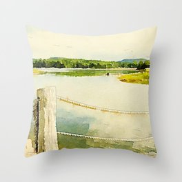 Somes Sound, Maine Throw Pillow