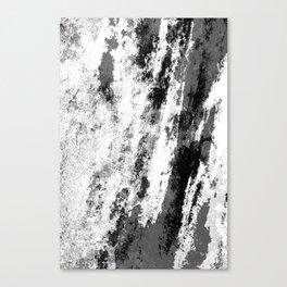 Perseverance Black & White Canvas Print